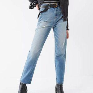 UO BDG Mom Jeans in Vintage Wash Denim